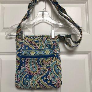 Vera Bradley Capri Blue hipster crossbody purse
